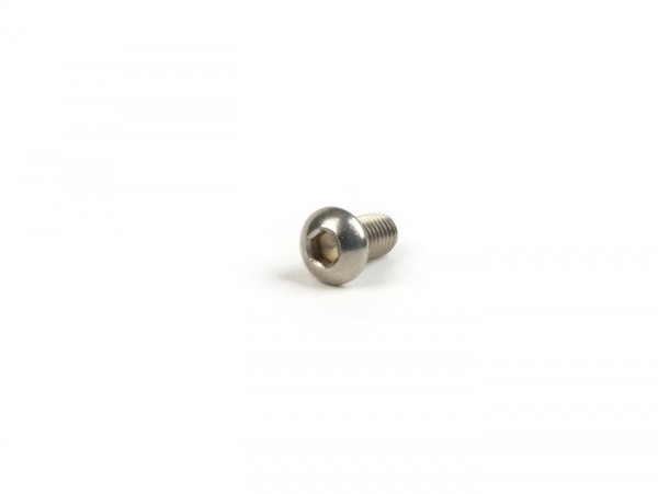 Allen screw flat head -ISO 7380- M6 x 12 - stainless steel