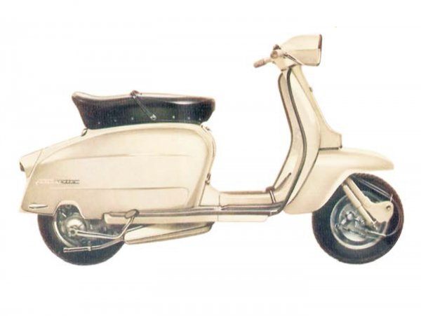 Lambretta (Serveta) Scooterlinea 125