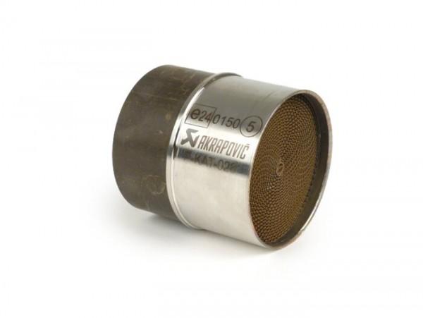 Katalysator  -AKRAPOVIC- Ø=63mm - P-KAT-040 (ersetzt P-KAT-028)