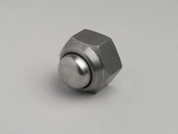 Domed cap nut M16 for rear wheel -LAMBRETTA- LI, LIS, SX, TV (series 2-3), DL, GP - stainless steel