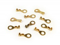 Crimp terminal -ring tongue 5.7mm Ø=1.0-1.5mm²- 10 pcs