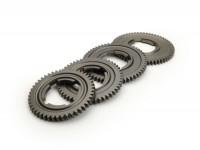 Gear cog  set -OEM QUALITY- Vespa V50, V90, 50N, PV125, ET3, SS50, SS90, PK S, PK XL1, PK XL2, ETS - (46, 50, 54, 58 teeth)