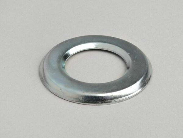 Dust cover steering shell on fork --OEM QUALITY- Vespa PX, T5 125cc, Cosa, PK, V50, V90, PV125, ET3, PK, Rally180 (VSD1T), Vespa Rally200 (VSE1T), Sprint150 (VLB1T), TS125 (VNL3T), GT125 (VNL2T), GTR125 (VNL2T), Super, SS180 (VSC1T), GS160 / GS4 (VSB