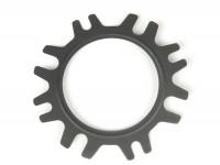 Cylinder head gasket -POLINI aluminium- 177/187cc -  0.25mm, Ø=63.0mm - Vespa PX125, PX150, Cosa125, Cosa150, GTR, TS125, Sprint Veloce
