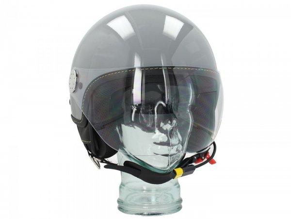 "Casco -VESPA Visor BT ""Super Tech""- grigio  (grigio materia (715/C)) - L (59-60cm)"
