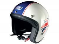 Casco -ORIGINE Primo- casco aprire City bianco - XL (61-62 cm)