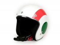 Helmet -VESPA 2.0 open face helmet Flag- Italy - L (59-60cm)