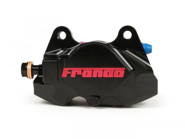 Bremszange hinten -FRANDO, 2-Kolben, Ø=34mm (F901)- Vespa GT, GTV, GTL, GTS, GTS Super 125-300ccm, Vespa 946 - schwarz