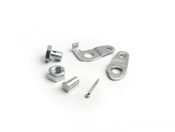 Front brake clamp set -PIAGGIO- Vespa all models (-1981), PX (-1984)