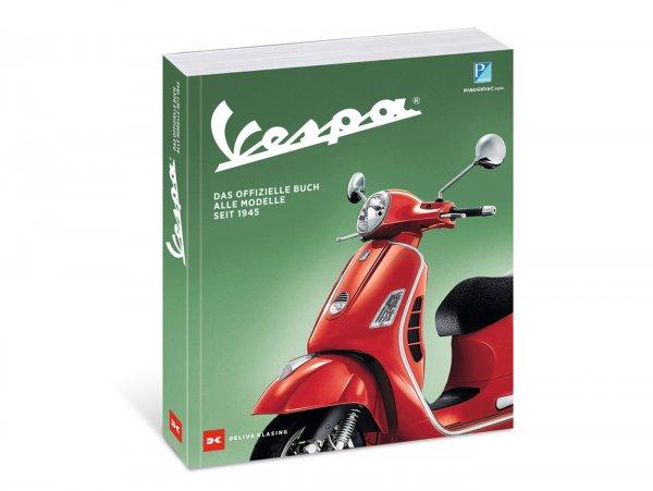 """Libro - """"Vespa, Das offizielle Buch. Alle Modelle seit 1945"""" di Davide Mazzanti - 1a edizione (2020), tedesco, 384 pagine"""