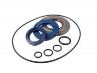 Kit retenes motor -CORTECO- Vespa P80X, P125X, P150X, P200E - incluye juntas tóricas