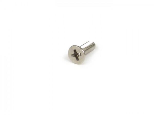 Schraube -DIN 965- M4 x 12mm - Edelstahl A4 blank (verwendet für Bremspumpenabdeckung Grimeca Bremspumpe)