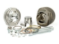 Cilindro -POLINI aluminio 133cc 135 ccm Evolution 2, Ø58mm- Vespa PV125, ET3 125, PK125