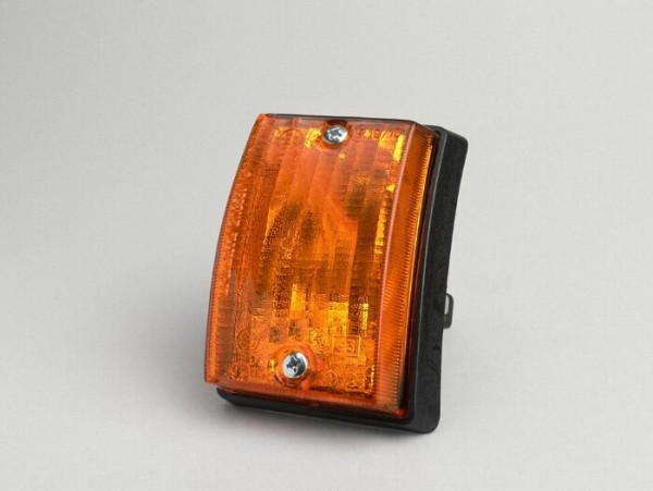 Blinker -PIAGGIO- Vespa PK50 S, PK80 S, PK125 S vorne links - Orange