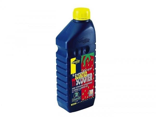 Öl -PUTOLINE TT- 2-Takt synthetisch mit Erdbeergeruch - 1000ml