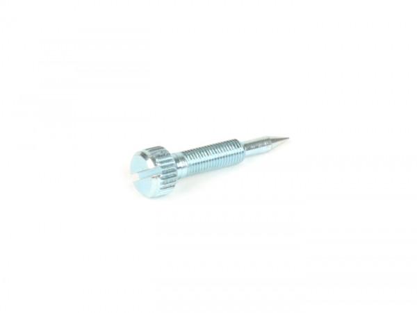 Gemischeinstellschraube -DELLORTO- SHB 16/15 F - Gewinde M4 x 0,5mm, L=27mm - dicke Spitze