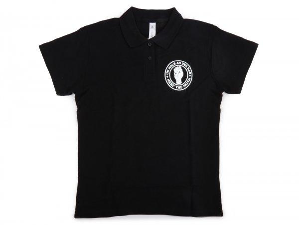 Polo-shirt, women -Um halb an der Bar- M