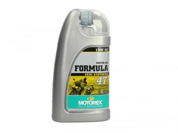 Öl - Motoröl -MOTOREX Formula 4T- 4-Takt SAE 10W-40 synthetisch - 1000ml