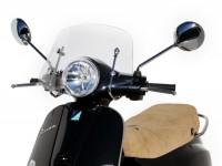 Windschutzscheibe -ERMAX Piccolo- Vespa LX50, LX125 - klar