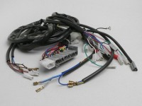 Wiring loom -PIAGGIO- Vespa PX EFL Elestart 1998-, with battery, stator plate with 5 wires