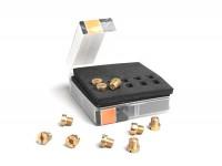 Hauptdüsenset -BGM PRO für Dellorto (Typ: 6413) 6mm- (100-122) - (100-102-105-108-110-112-115-118-120-122)