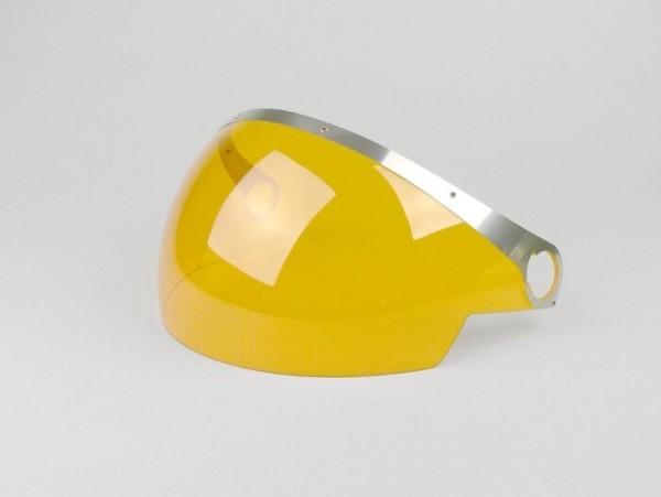 Visera de casco -VESPA GTS 300- amarillo