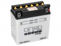 Batterie -Standard SCEED 42 Energy- CB9-B - 12V, 9Ah - 140x76x137mm (inkl. Säurepack)