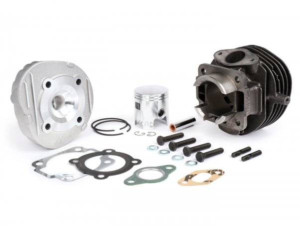 Cilindro -POLINI fundición gris 75 ccm Sport- Vespa V50, PK50