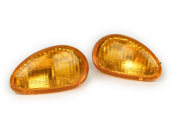 Blinker-Set -BOSATTA- ET2, ET4 vorne - Orange