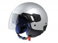 Helm -VESPA PJ- Jethelm, grau matt - XL (61-62cm)
