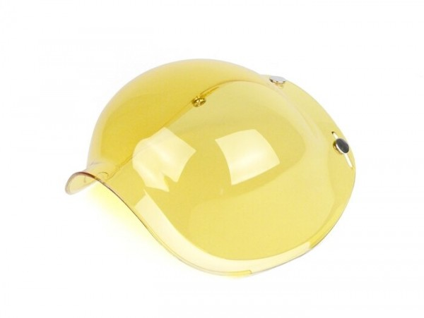 Visor for helmet -BANDIT Jet- yellow