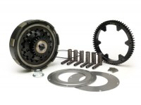 Clutch incl. primary drive set -BGM Pro Superstrong CR80, type Cosa2/FL- primary gear BGM Pro 62 tooth (straight) - Vespa PX80, PX125, PX150, PX200, Cosa, T5, Sprint150 Veloce, Rally, GTR, TS125, Super150 (VBC) - 24/62 tooth (2.58)