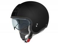 Helmet -NOLAN N21 Caribe- jet helmet, flat asphalt - XXS (51-52cm)