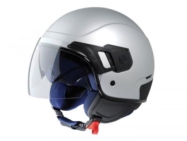 Helm -VESPA PJ- Jethelm, grau matt - XS (52-54cm)