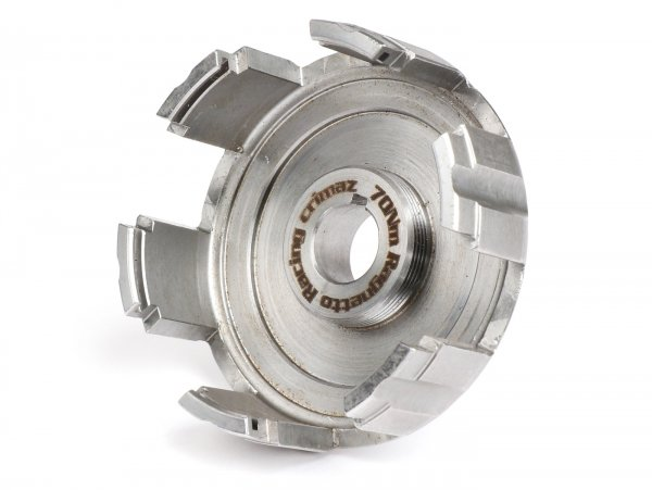Kupplungskorb -CRIMAZ- Vespa V50, V90, SS50, SS90, PV125, ET3, PK50, PK80, PK50 S, PK80 S, PK125 S, PK50 XL, PK125 XL, ETS, PK50 HP, PK50 SS