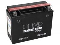 Batterie -Wartungsfrei SCEED 42 Energy- CTX18L-BS- 12V, 16Ah - 163x89x205mm (inkl. Säurepack)