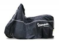 Abdeckplane, Faltgarage, Rollergarage -PIAGGIO Outdoor- Vespa GT, GTL, GTS 125-300, GTV - Schwarz