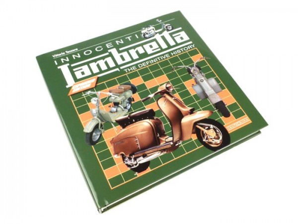 Libro -Innocenti Lambretta the definitive history + Restoration Guide (Expanded Edition)- de Vittorio Tessera (tapa en rústica)