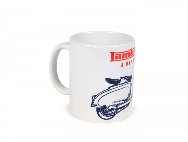Tasse -LAMBRETTA - A way of life- bleu