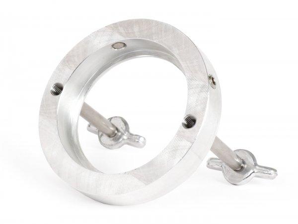Adapter für Luftfilter -BOLLAG MOTOS Polini CP, Typ SHB- Vespa Wideframe VM1T, VM2T, VN1T, VN2T, VL1T, VL2T, VL3T, VB, VGL1, ACMA