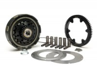 Clutch incl. primary drive set -BGM Pro Superstrong CR80, type Cosa2/FL- primary gear BGM Pro 63 tooth (straight) - Vespa PX80, PX125, PX150, PX200, Cosa, T5, Sprint150 Veloce, Rally, GTR, TS125, Super150 (VBC) - 25/63 tooth (2.52)