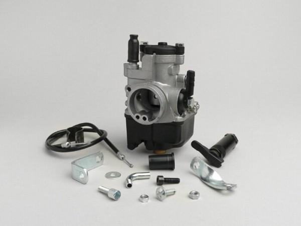 Vergaserkit -MALOSSI 25mm Dellorto PHBL- manueller Choke, Piaggio 125-180 ccm 2-Takt - AW=30mm