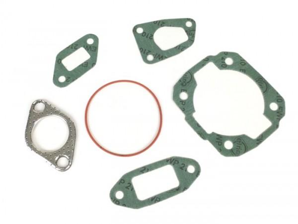 Kit de juntas para cilindro -MALOSSI MK2, MK3, MK4 136cc- Vespa V50, PV125, ET3, PK50, PK80, PK125 - junta tórica incl.
