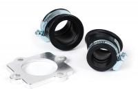 Collettore aspirazione -101 Octane Twist- Minarelli/CPI 50cc (cilindro orizzontale) = attacco= 23mm + attacco=32mm