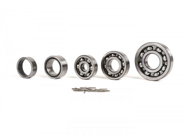 Kugellagersatz Motor -SCOOTER CENTER- Vespa Largeframe GTR125 (VNL2T 145901-), TS125 (VNL3T 18139-), Sprint150 Veloce (VLB1T 294260-), P125X (VNX1T -146313), P150X (VLX1T -264564)