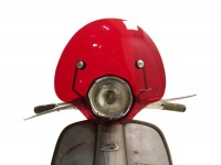Screen -AMS CUPPINI Bubble- Lambretta TV special - medium-sized, with bracket -