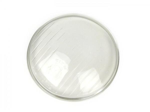 Cristal faro -SIEM Ø=95mm- Vespa Wideframe V1T, V15T, V30T, V33T, VU - estriados cortos