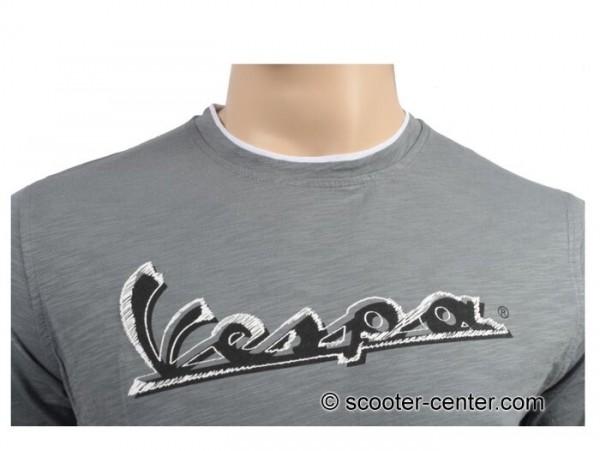 T-Shirt -VESPA Original- grau - M