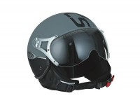 Casco -SPEEDS Jet Fashion Soft Touch - antracite - XL (61-62 cm)