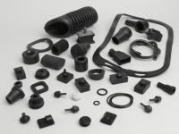 Rubber kit -OEM QUALITY- Vespa PX/P-range, LML Star/Deluxe  - 38 pcs
